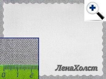 Грунтованный художественный льняной холст из льна для живописи и рисования в рулоне 360