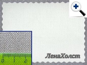 Грунтованный художественный льняной холст из льна для живописи и рисования в рулоне 410